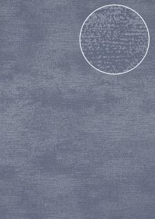 Ton-in-Ton Tapete Atlas SIG-587-3 Vliestapete glatt mit abstraktem Muster schimmernd blau tauben-blau pastell-blau 5, 33 m2