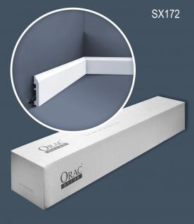 Orac Decor SX172-box-10 1 Karton SET mit 10 Sockelleisten Stuckleisten 20 m