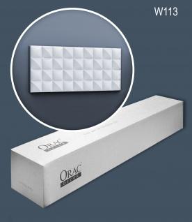 Orac Decor W113-box 1 Karton SET mit 9 3D Wandpaneel Zierelement   18 m
