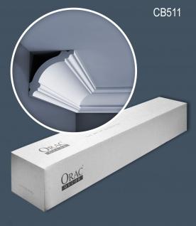 Orac Decor CB511 BASIXX 1 Karton SET mit 18 Stuckleisten 36 m