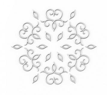 Stuckgesims von Orac Decor G76 Scala Ulf Moritz LUXXUS Zierelement Stuckprofil klassisches Wand Dekor Element weiß - Vorschau 3