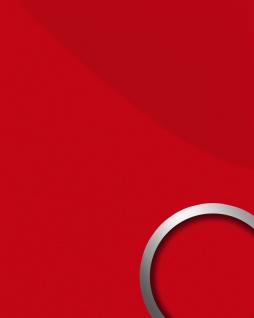 Wandverkleidung abriebfest selbstklebend WallFace 16461 DECO MAGIC Wandpaneel Design leicht glänzend sexy rot | 2, 60 qm