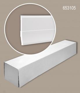 Profhome 653105 1 Karton SET mit 6 Sockelleisten Zierleisten Stuckleisten | 12 m