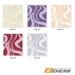 Grafik Tapete Vliestapete EDEM 699-93 XXL Designer Streifen kreative Wellen Linien braun-beige natur-weiß 10, 65 qm - Vorschau 4