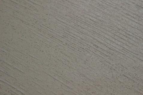 Uni Tapete Atlas TEM-5114-1 Vliestapete strukturiert im Shabby Chic Stil schimmernd creme perl-weiß rein-weiß seiden-grau 7, 035 m2 - Vorschau 3
