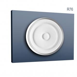 Zierrosette Stuck Orac Decor R76 LUXXUS Rosette Stuckrosette Decken Lampen Polyurethan 62 cm Durchmesser