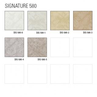 Grafik Tapete Atlas SIG-580-0 Vliestapete strukturiert mit abstraktem Muster schimmernd weiß rein-weiß perl-weiß 5, 33 m2 - Vorschau 3