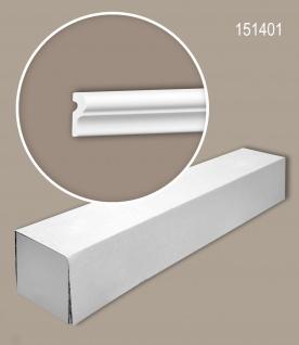Profhome 151401 1 Karton SET mit 40 Wand- und Friesleisten Zierleisten Stuckleisten | 80 m