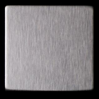 Mosaik Fliese massiv Metall Edelstahl gebürstet in grau 1, 6mm stark ALLOY Attica-S-S-B 0, 85 m2 - Vorschau 5