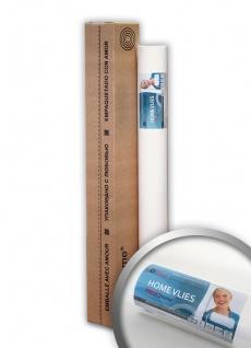 HomeVlies 130 g Renoviervlies Malervlies Glattvlies glatte Vliestapete ohne Struktur zum Überstreichen weiß | 25 qm