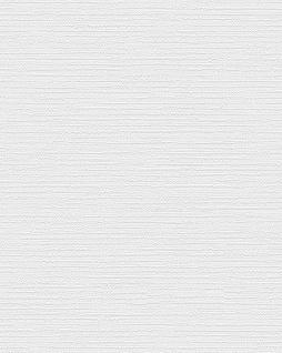 Ton-in-Ton Tapete Profhome BA220031-DI heißgeprägte Vliestapete geprägt unifarben dezent schimmernd weiß 5, 33 m2