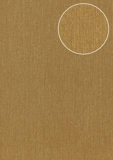Hochwertige Ton-in-Ton Tapete Atlas COL-526-2 Vliestapete glatt mit abstraktem Muster schimmernd gold bronze 5, 33 m2 - Vorschau 1