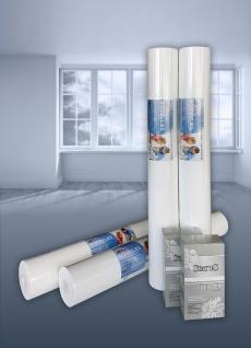 SPARSET NORMVLIES 150 g Renoviervlies 1 Karton 4 Rollen 75 m2 + Kleber KOSTENLOS | Glattvlies Malervlies glatte überstreichbare Vliestapete weiß