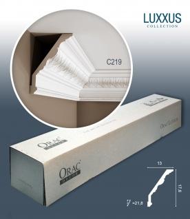 Orac Decor C219 LUXXUS 1 Karton SET mit 8 Eckleisten Stuckleisten | 16 m