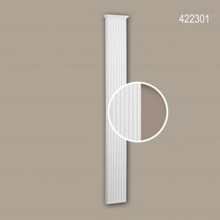 Pilaster Schaft 422301 Profhome Fassadenelement Pilaster Außenstuck Korinthischer Stil weiß