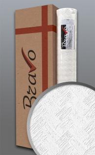 Struktur-Tapete EDEM 83103BR70 Überstreichbare Vliestapete Fischgrätenmuster Riemchen Ziegel weiß 4 Rollen 106 m2