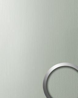 Wandverkleidung Design Platte WallFace 15452 DECO EyeCatch Metall Wand Dekor selbstklebende Tapete edelstahl grau | 2, 60 qm