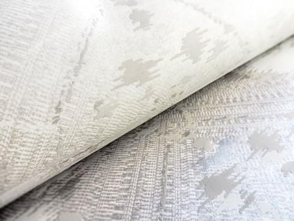 Spachtel Putz Tapete ATLAS HER-5130-3 Vliestapete geprägt im Landhaus-Stil schimmernd beige perl-weiß perl-hell-grau 7, 035 m2 - Vorschau 3