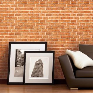 3D Tapete Stein Tapete EDEM 583-20 Rustikale Vinyl Tapete klassische Vintage Optik Mauer-Stein Klinker Ziege sand beige - Vorschau 3