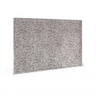 Wandpaneel 3D Profhome 3D 705048 Lamina Crosshatch Silver Dekorpaneel geprägt mit abstraktem Muster glänzend silber 1, 7 m2