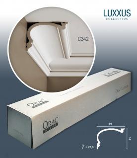 Orac Decor C342 LUXXUS 1 Karton SET mit 10 Stuckleisten | 20 m