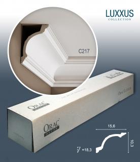 Orac Decor C217 LUXXUS 1 Karton SET mit 12 Eckleisten Stuckleisten | 24 m