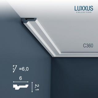 Stuck Zierleiste Orac Decor C360 LUXXUS leiste Eckleiste Dekorleiste Gesims Decken Leiste | 2 Meter