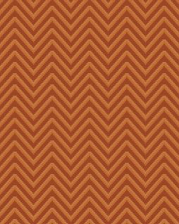 Streifen Tapete Profhome BA220095-DI heißgeprägte Vliestapete geprägt mit Chevron Muster und metallischen Akzenten braun gold 5, 33 m2