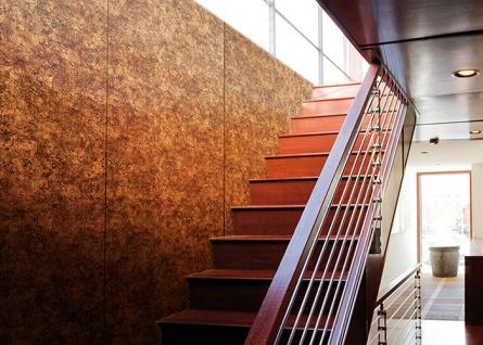 Wandplatte selbstklebend Leder Dekor WallFace 17271 VINTAGE Wandpaneel Vintage Look Design kupfer braun 2, 60 qm - Vorschau 2