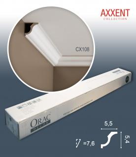 Orac Decor CX108 AXXENT 1 Karton SET mit 36 Stuckleisten | 72 m