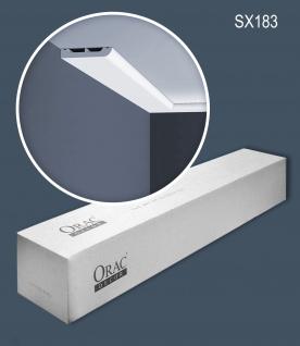 Orac Decor SX183-box 1 Karton SET mit 34 Sockelleisten Wandleisten   68 m