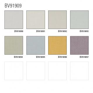 Uni Tapete Profhome BV919090-DI heißgeprägte Vliestapete strukturiert mit Struktur matt weiß 5, 33 m2 - Vorschau 2