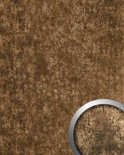 Wandpaneel Antique Design Wandverkleidung WallFace 17233 IMPACT Shabby Chic selbstklebend bronze braun | 2, 60 qm