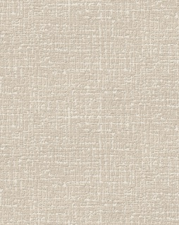 Ton-in-Ton Tapete Profhome DE120102-DI heißgeprägte Vliestapete geprägt mit abstraktem Muster matt creme 5, 33 m2