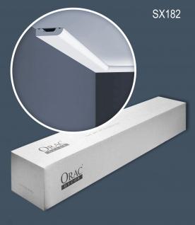 Orac Decor SX182-box 1 Karton SET mit 10 Sockelleisten Wandleisten 200m