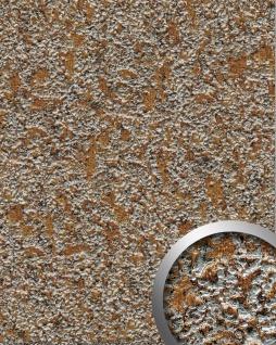 Wandpaneel Stein Optik WallFace 14805 LAVA Design selbstklebend kupfer-braun grau | 2, 60 qm