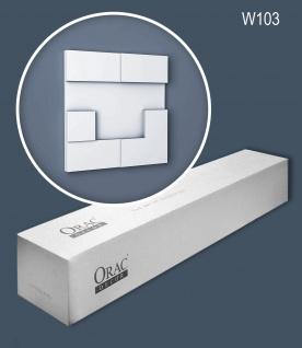 Orac Decor W103 MODERN 1 Karton SET mit 5 Wandpaneelen Zierelementen 0, 55 m2