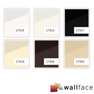 Wandpaneel Glas-Optik WallFace 17964 UNI MOCCA Wandverkleidung abriebfest selbstklebend braun 2, 60 qm - Vorschau 3