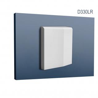 Türumrandung Stuck Orac Decor D330LR LUXXUS Sockel-Set Zierelement Profil Wand Dekor Element robust und stoßfest 16cm hoch