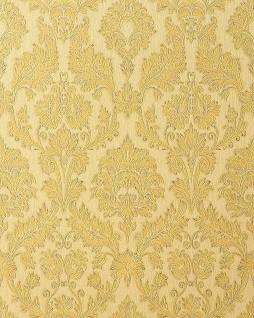 3D Barock-Tapete Präge Tapete EDEM 708-31 Hochwertige Tapete klassisch damask beige creme gold platin Schattierung
