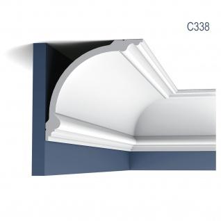 Stuck Zierleiste Orac Decor C338 LUXXUS Eckleiste Profilleiste leiste Deckenprofil Wandleiste klassisch 2 Meter