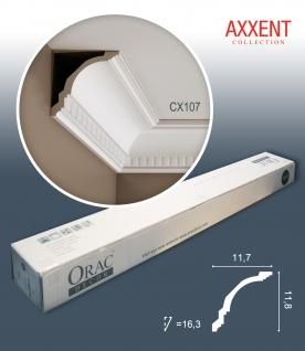 Orac Decor CX107 AXXENT 1 Karton SET mit 13 Eckleisten Stuckleisten | 26 m
