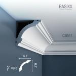 Eckleiste Stuck Orac Decor CB511 BASIXX Stuckleiste Zierleiste Stuckprofil Stuck Dekor Wand Decken Leiste | 2 Meter