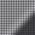 Mosaik Fliese massiv Metall Edelstahl marine hochglänzend in grau 1, 6mm stark ALLOY Mosaic-S-S-MM 1, 04 m2