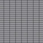 Mosaik Fliese massiv Metall Edelstahl matt in grau 1, 6mm stark ALLOY Cabin-S-S-MA 1, 01 m2
