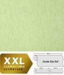 Uni Vliestapete EDEM 908-08 Tapete in XXL geprägte Stuktur Textiloptik pastell-grün apfelgrün 10, 65 qm