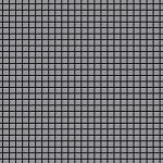 Mosaik Fliese massiv Metall Edelstahl matt in grau 1, 6mm stark ALLOY Glomesh-S-S-MA 1, 07 m2