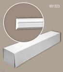Profhome 651323 1 Karton SET mit 30 Wand- und Friesleisten Zierleisten Stuckleisten | 60 m