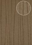 Streifen Tapete Atlas COL-566-0 Vliestapete glatt Design schimmernd braun terra-braun beige-braun gold 5, 33 m2