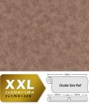 Uni Tapete EDEM 9031-16 Vliestapete geprägt in Spachteloptik schimmernd braun 10, 65 m2